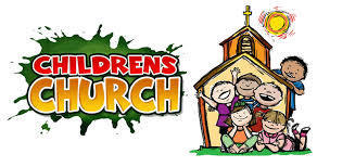 Children's Church ~ 11 am mass