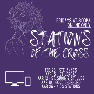 Stations of the Cross for our Family of Parishes