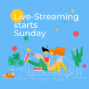 Sunday Masses are going LIVE!
