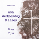 Ash Wednesday Masses In Person
