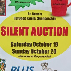 Silent Auction for Refugee Ministry