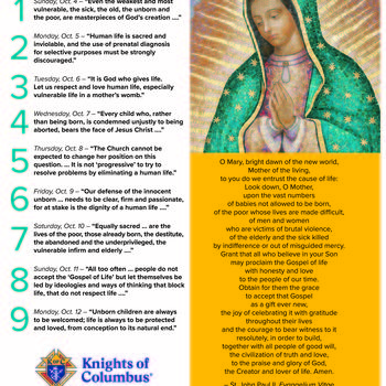 Novena for the Cause of Life