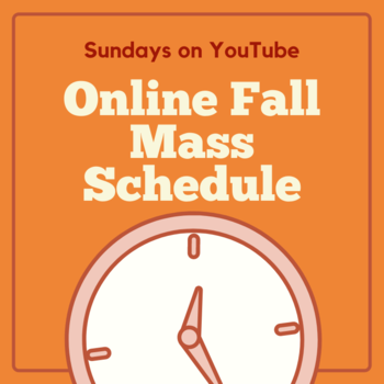 Fall Live-Stream Schedule