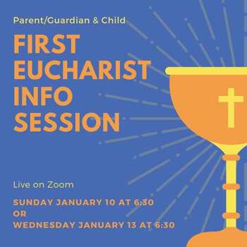Online First Reconciliation/Eucharist Info Session