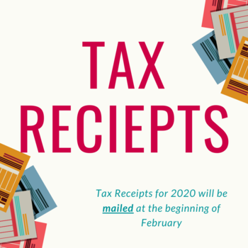 Tax Receipts for 2020