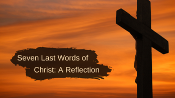 Good Friday Reflection Online
