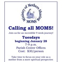 Ministry of Mothers Sharing (MOMS) - 9 sessions