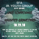 Haunted Graveyard at Lake Compounce - Jr. Youth Group