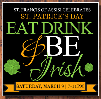 Eat, Drink & Be Irish! - Fundraiser