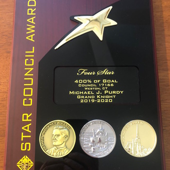 St. Francis Knights of Columbus receives Star Council Award