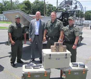 District Attorney Partners with LA Department of Wildlife and Fisheries