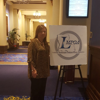 Victim Assistant Coordinator Gives Speech at 2019 Louisiana Probation Officers' Conference