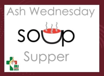 Ash Wednesday Soup Supper