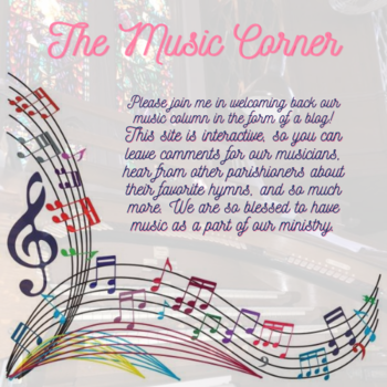 Notes from the Music Corner