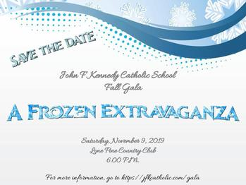 Save the Date - Fall Gala!