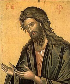 Second Sunday of Advent with St. John the Baptist