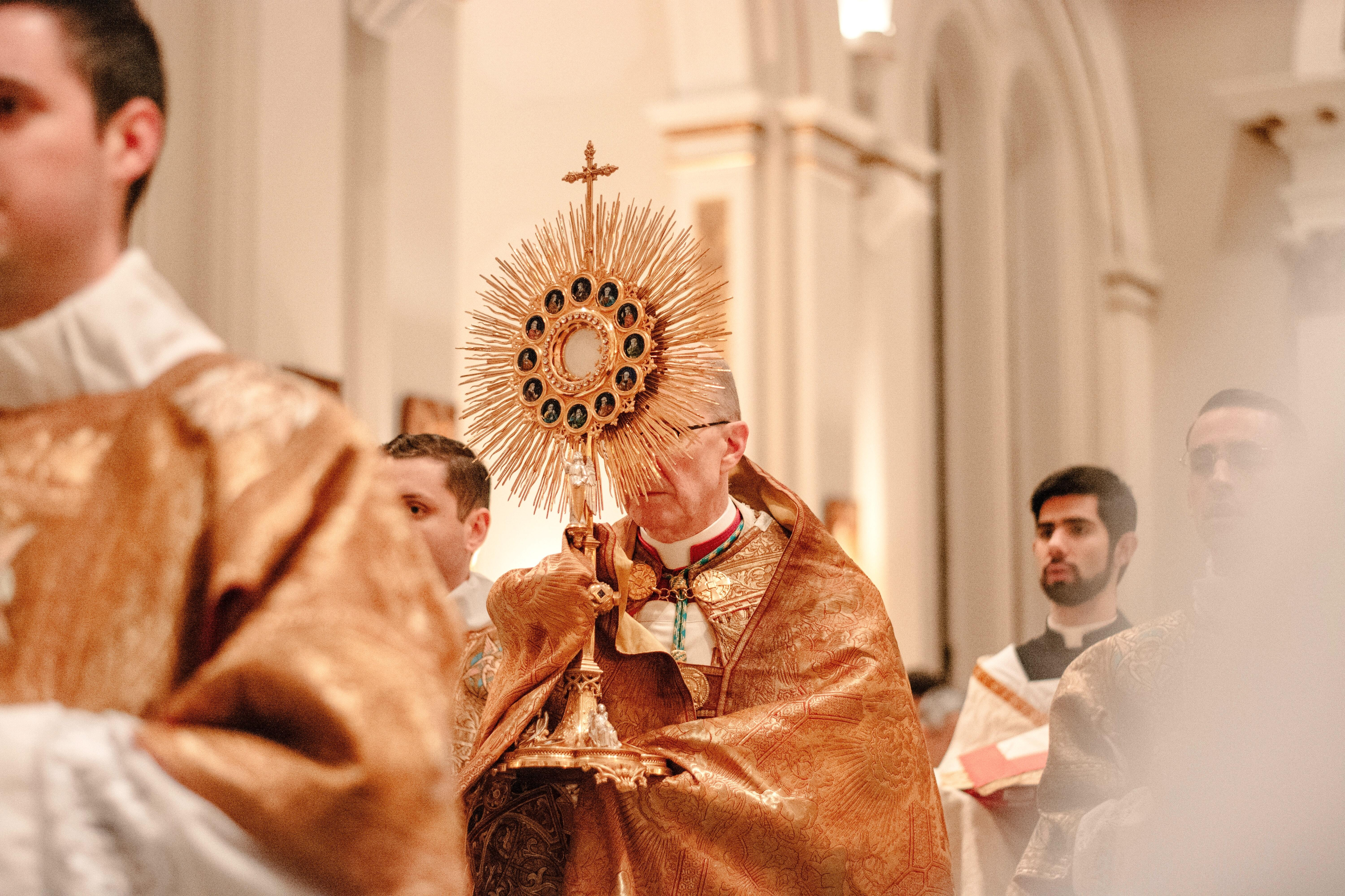 When we face the sun we get a tan. But, when we stand before Jesus in the Eucharist, we become Saints. -Bl. Carlo Acutis, the first millennial to be beatified.