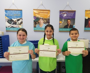LMC 5th Graders Receive National Award for Botany Project