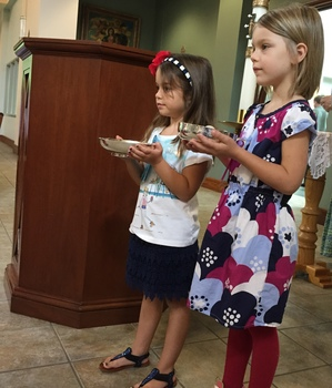 First Communion Rehearsal