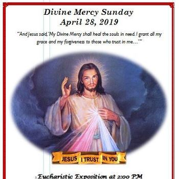Diviine Mercy Sunday