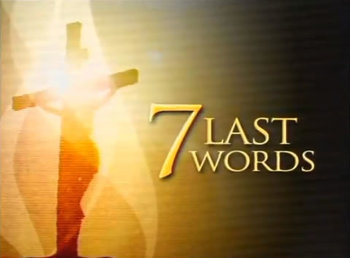 The Last seven words of Christ