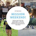 High School Mission Weekend! (Click here to register!)
