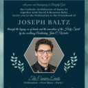 Ordination Updates for Deacon Joseph Baltz