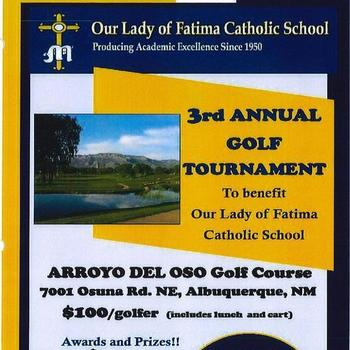 3rd Annual Golf Tournament, April 21