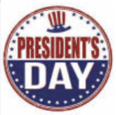 Parish Office to be Closed for President's Day