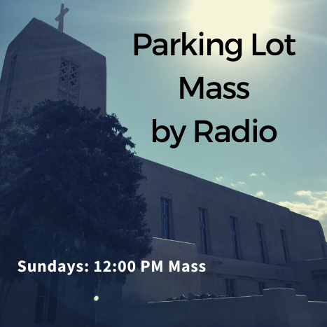 Mass by radio