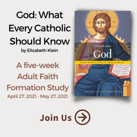 Join us for the Adult Faith Formation study beginning April 27, 2021.
