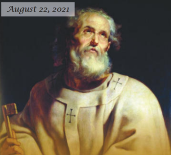 21st Sunday in Ordinary Time