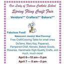 Spring Fling Craft Fair, April 6-7, 2019