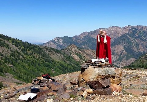 Mass on the mountaintop