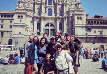 Newman Group Travels to Europe for the Camino