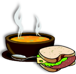 Soup, Sandwich & Video