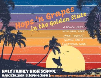 Hops 'n Grapes in the Golden State Beach Party