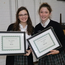 Two Recipients Awarded Alumnae Legacy Scholarship