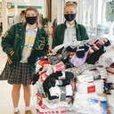National Honor Society Hosts Sock Drive