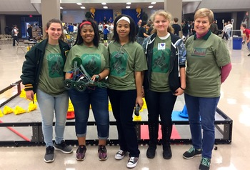 Robotics Club Competes in First Competition