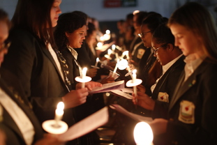 "Big Sisters Shine ""Candlelight"" on Cabrini with Little Sisters"