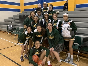 Cabrini Basketball Named Undefeated District Champs