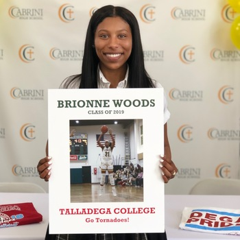 Brionne Woods '19 to Play Basketball in College