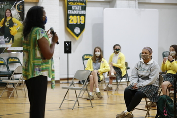 Students Learn from Professionals at Career Day