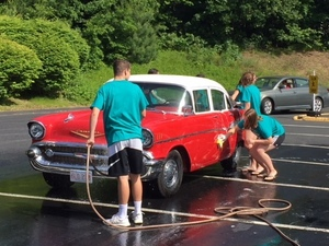 Young Neighbors in Action - Car Wash Fundraiser