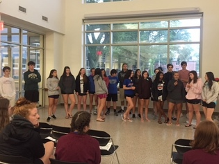The teens at the Guild of St. Agnes