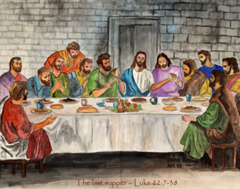 Holy Thursday, Mass of the Last Supper