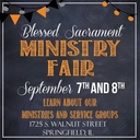 Mark Your Calendar for the 2019 Ministry Fair!