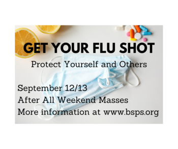 Flu Shots - September 12 and 13