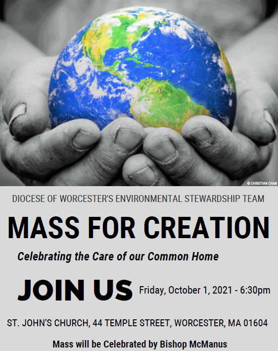 MASS FOR CREATION - Celebrating the Care of Our Common Home